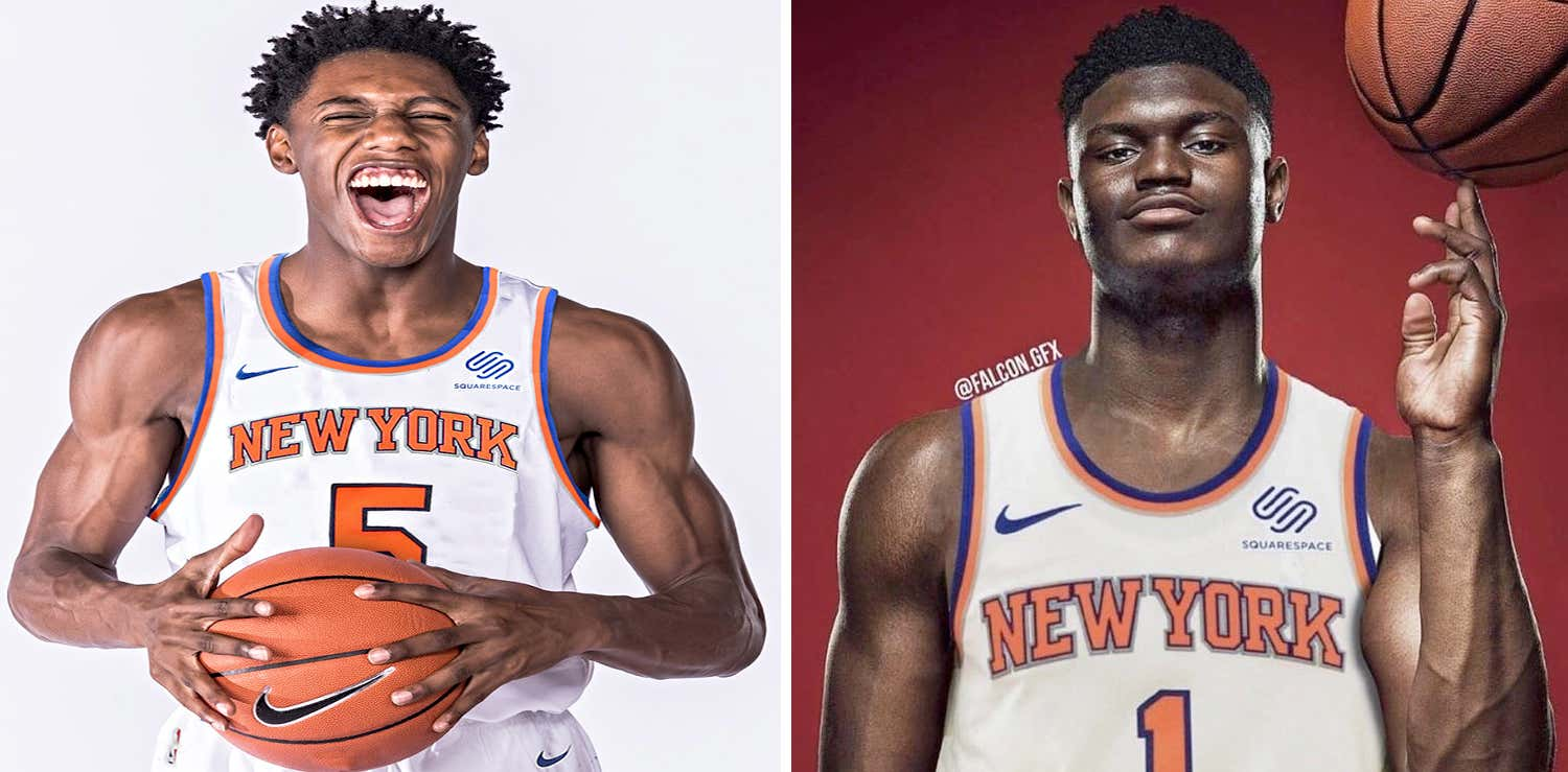 factory authentic 7df57 6ea75 RJ Barrett Is Already Talking About Recruiting Zion ...