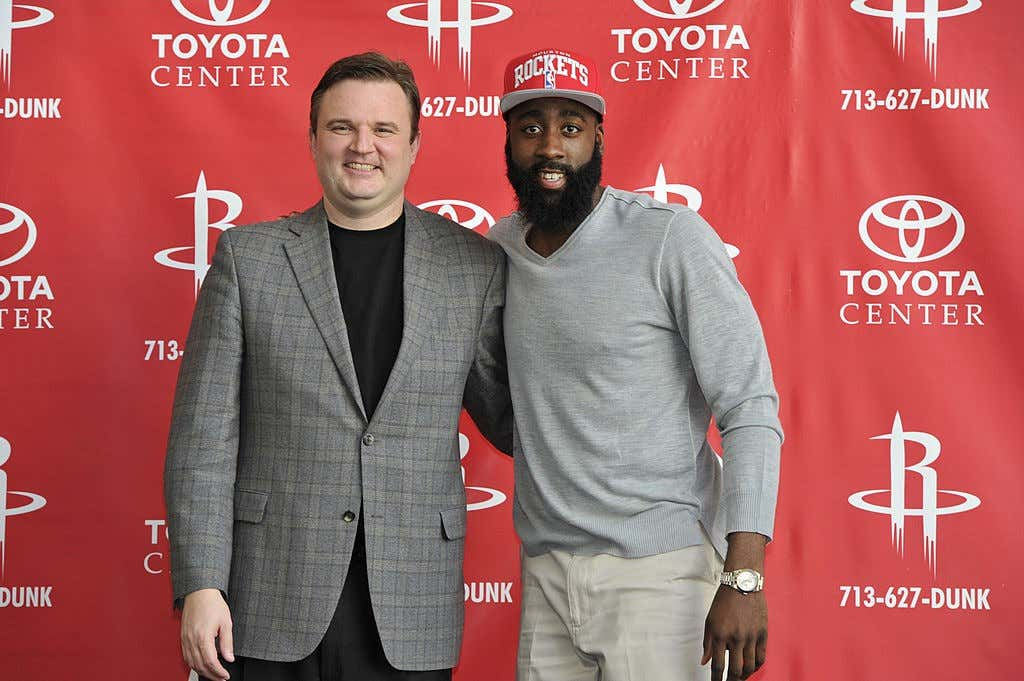 James Harden Houston Rockets press conference
