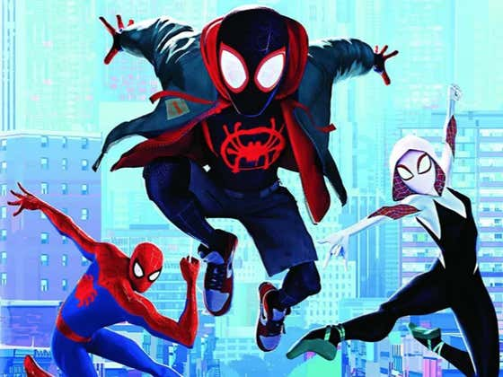 If You Haven't Seen 'Into The Spider-Verse', Today Is The Day To Change That