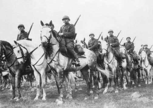 polish cavalry ww2