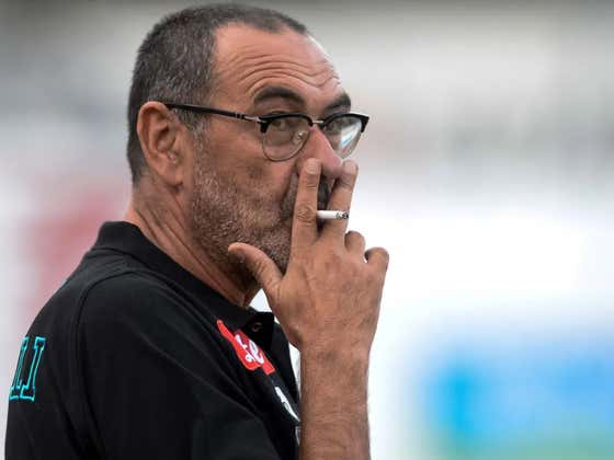 New Juve Manager Maurizio Sarri Smokes 60 Cigarettes A Day