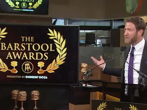 The Barstool Awards Presented By Dunkin Go2s - 3 Minute Speed Watch