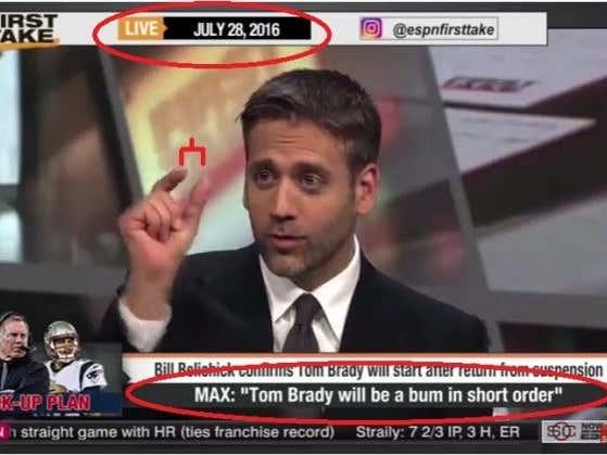 Tom Brady Finally Broke Cliff Kellerman