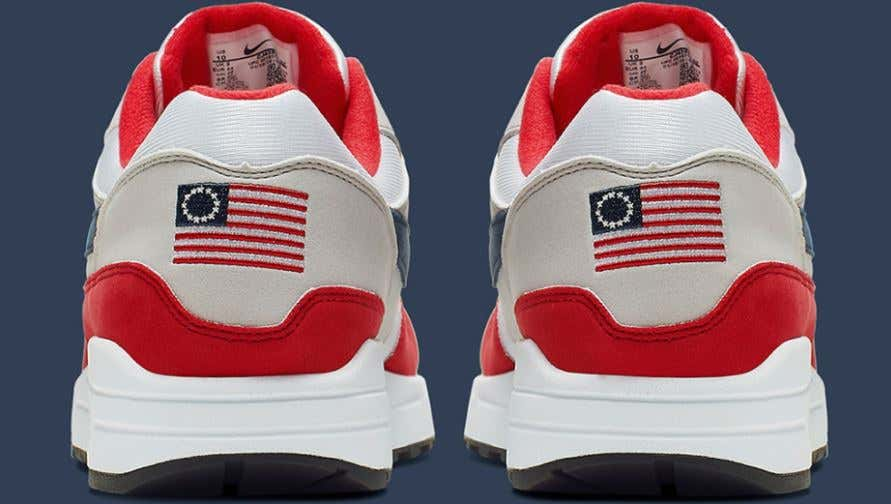 Move Over Nike 'Printed Kicks' Has Your Betsy Ross Flag