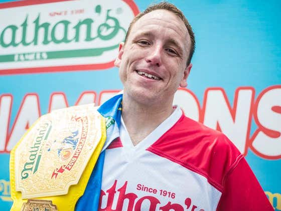 Joey Chestnut Just Gave A HUGE Tip To All The Dengenerate Gamblers Out There
