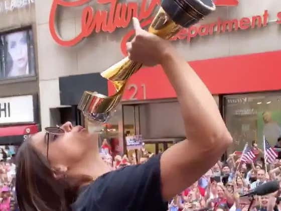 'It's Getting Sloppy. It's Getting Fucking Sloppy' - We Found The Official Motto Of The USWNT Parade