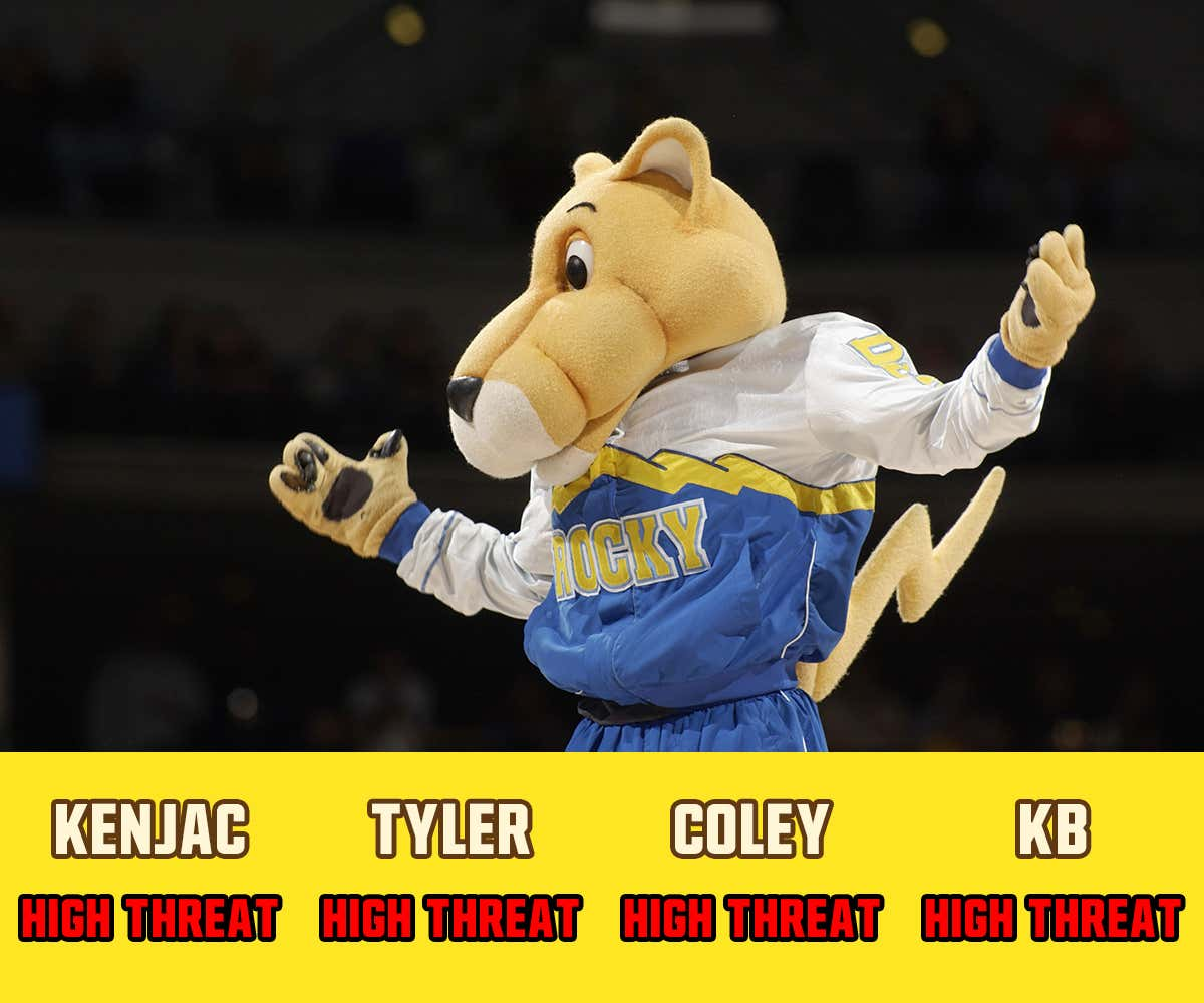 Which NBA Mascot Is Most Likely To Have Sex With Your Wife ...