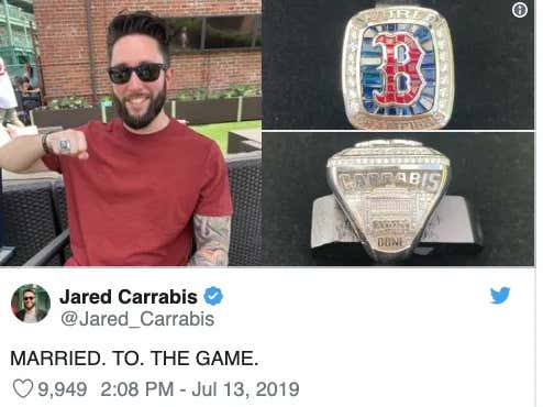 Who Had A Better Weekend: Jared Carrabis Or The Chicago Cubs?
