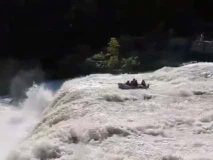 Group Decides To Go Whitewater Rafting Without A Tour Guide, Immediately Gets Swept Over A Massive Waterfall