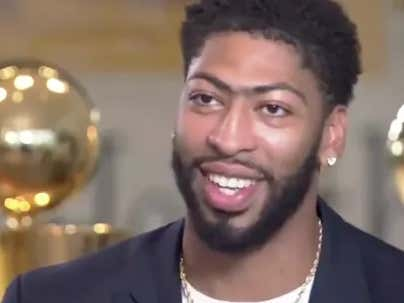 Anthony Davis Sounds Like A Player Already Plotting To Leave The Lakers
