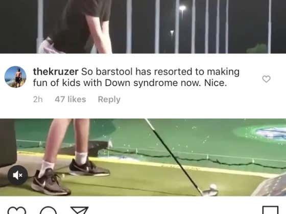 The Internet Is Attacking Barstool Sports But Also Calling Me Disabled?