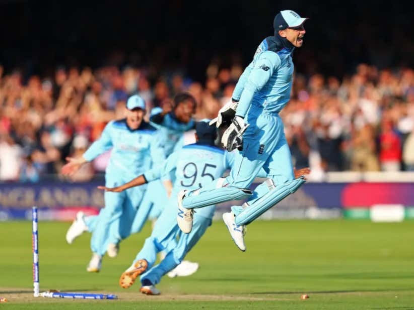 England Won The Cricket World Cup In A Super Over, Which Just Means That It Was Absolutely Ridiculous