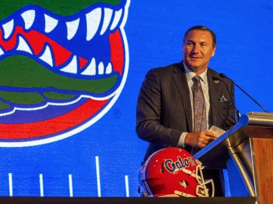 While Dan Mullen Was Speaking At SEC Media Days, Florida Lost Another Player To The Transfer Portal