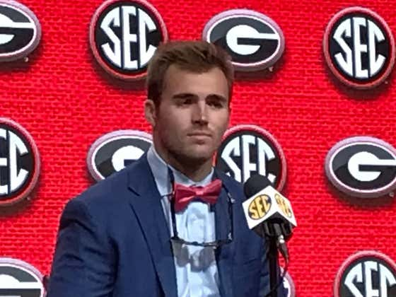 What Does Jake Fromm's Clip-On Bowtie Say About Georgia's Title Chances?