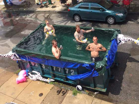 The City Of Philadelphia Is Continuing Their Crusade Against Homemade Pools