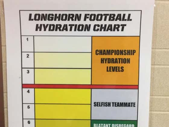 Texas Safety Goes To Absurd Measures To Pass Tom Herman's Hydration Piss Test