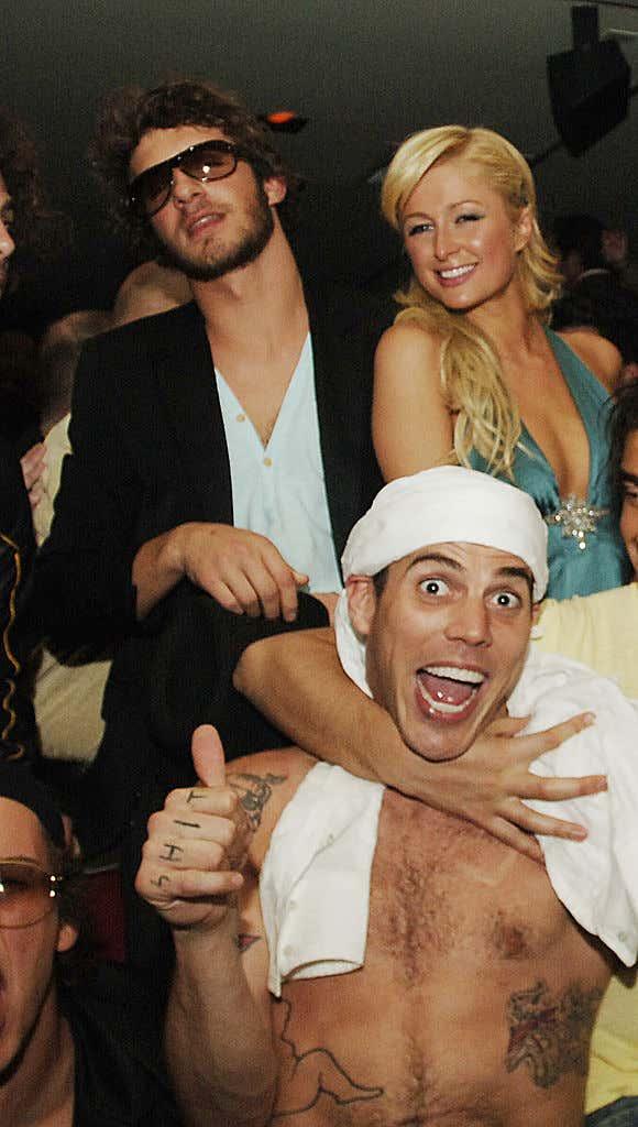 Paris Hilton Celebrates Boyfriend Stavros Niarchos' 21st Birthday Party at Light Nightclub at The Bellagio Hotel and Casino Resort