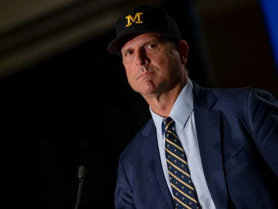 Jim Harbaugh Planning To Play Two QBs In Every Single Game This Season Is A Disgusting Idea