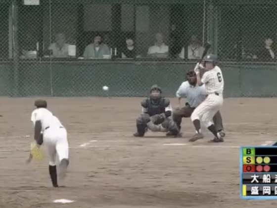 Japanese Teenager Throws 99mph During 194 Pitch Complete Game Shutout