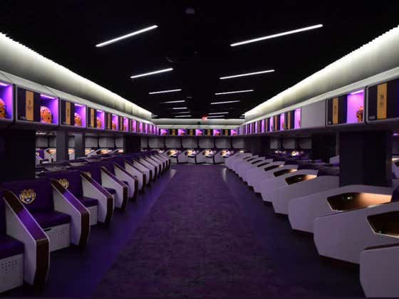 Football Guy Coach O Has To Hate LSU's New $29 Million Locker Room