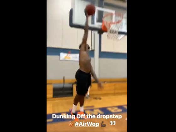 Gucci Mane Can Dunk Now