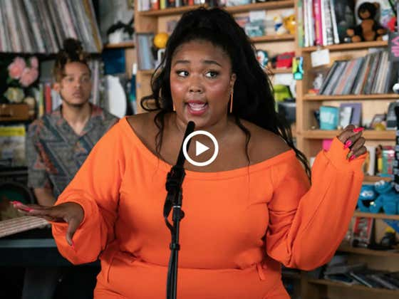 Lizzo's Tiny Desk Concert Is Everything