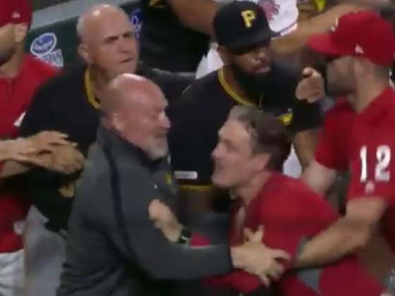 Reds Manager David Bell Telling Clint Hurdle He's A Piece Of Shit As Amir Garrett Fought The Entire Pirates Dugout Was The Sports Moment Of The Year