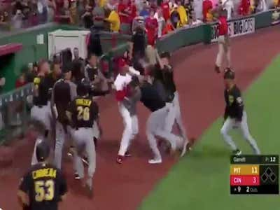 Watching Amir Garrett Fight The Entire Pirates Organization Is Somehow Even Better With The LEEEEEROY JENKINS Soundtrack In The Background