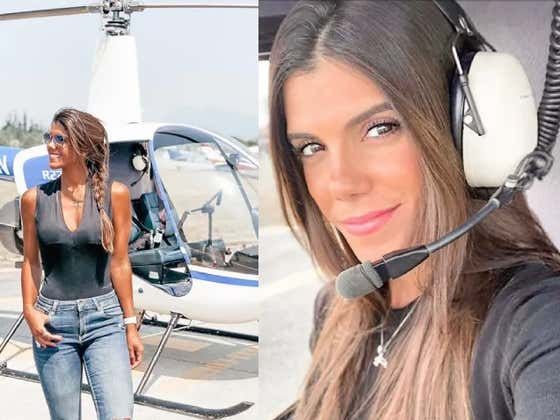 Smokeshow Pilot Is Taking The Helicopter World By Storm