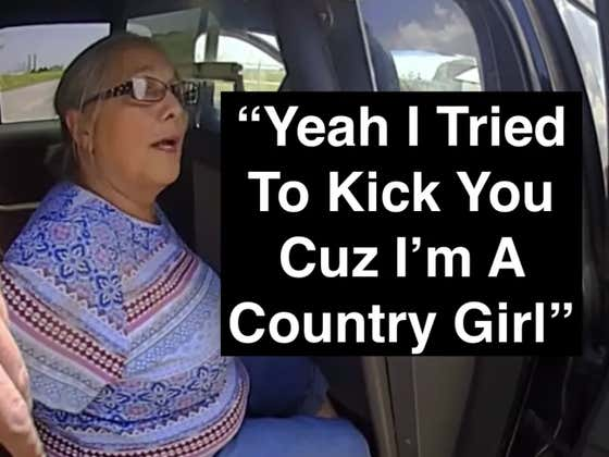 MUST WATCH: 65-Year-Old Lady Fights Cop And Gets Tased TWICE Over Her Broken Tail Light