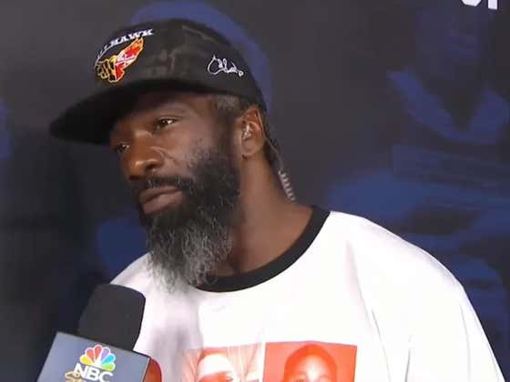 Ed Reed Saying He Became A Hall Of Famer Because He Was Conceived Around Playoff Time Was My Favorite Part Of Last Night's Hall Of Fame Game