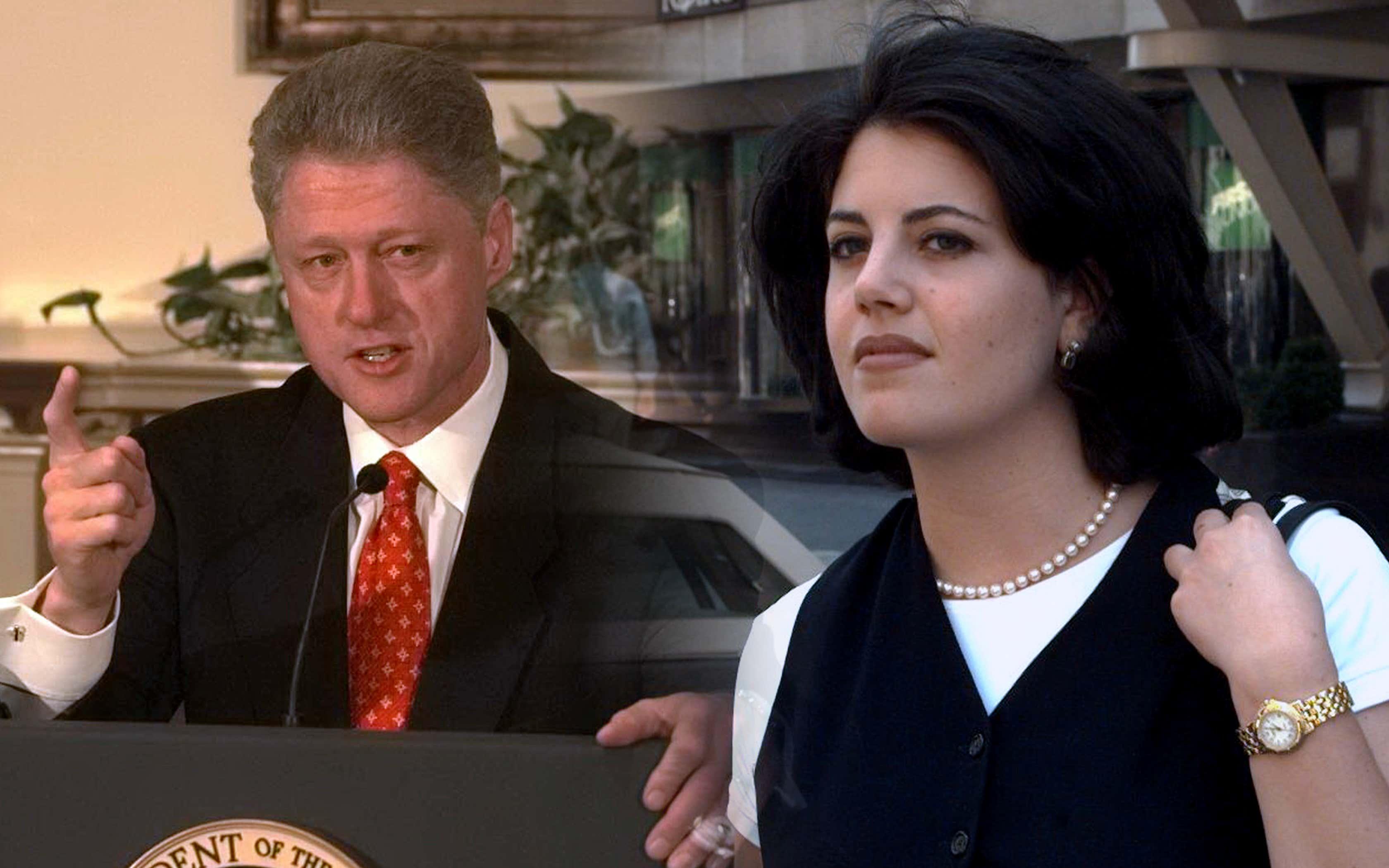 Bill Clinton blowjob