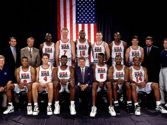 27 Years Ago Today We Watched The Greatest Basketball Team Of All Time Cap Off The Most Dominant Run Ever Witnessed