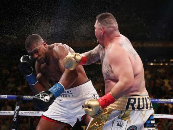 Everybody's Favorite Boxer Andy Ruiz Returns To The Ring In December To Rematch Anthony Joshua