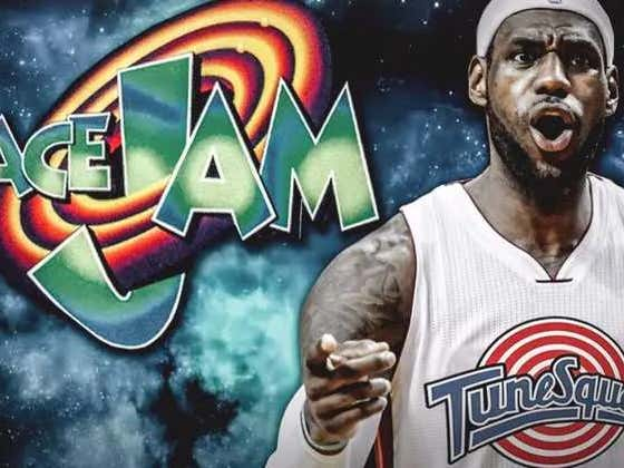 First LeBron Doesn't Care About Winning, Now He Doesn't Care About Space Jam 2 - Using A BASKETBALL Double, I Repeat LeBron Has To Use A Basketball (Not Stunt) Double