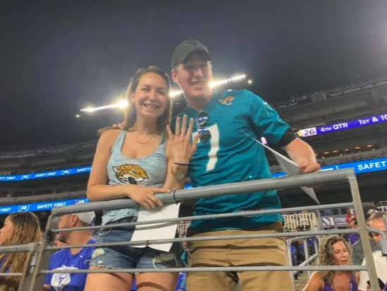 Getting Engaged During Game 1 Of The Preseason At A Ravens vs Jaguars Game Is An Abomination To The Lord