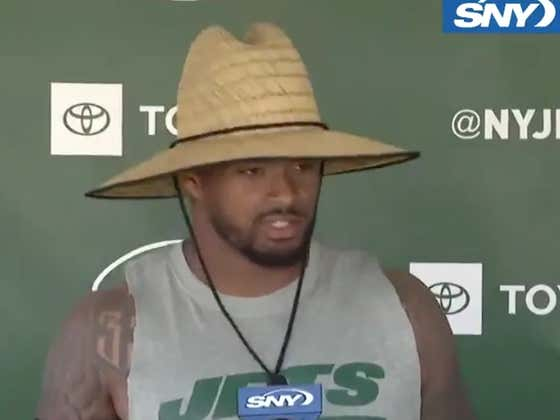 """The Jets Have A """"Feelings Report"""" For Players That Are Too Sensitive"""