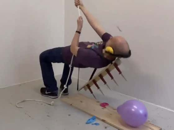 Nobody In The World Loves Popping Balloons More Than This Legend Right Here
