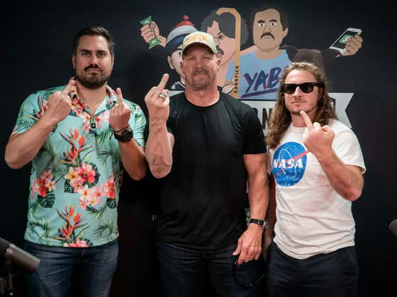 PMT: Stone Cold Steve Austin + The Mount Rushmore Of Sports Movie Characters