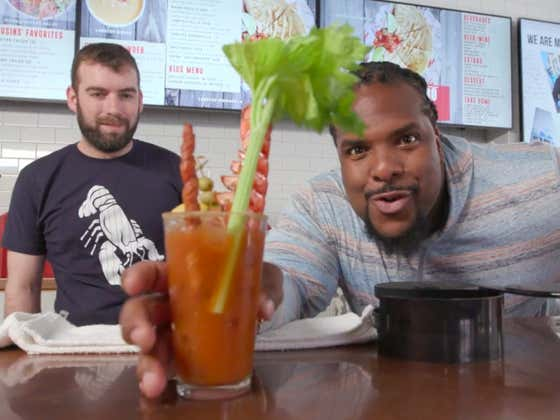 MIXIN' IT UP ... With a Bloody Mary