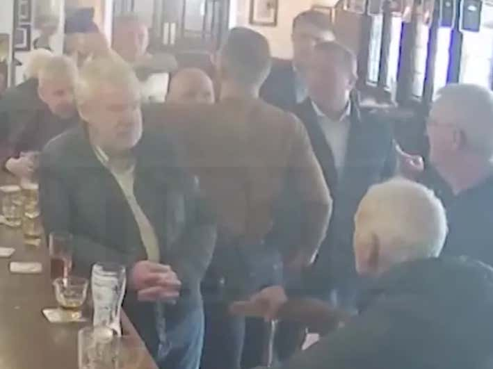 VIDEO - Conor McGregor Punches Elderly Man In The Head Over Stupid Bar Dispute