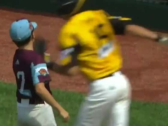 Fuck This Kid At The LLWS Who Gave Up A Bomb And Then High-Fived The Hitter As He Crossed Home Plate