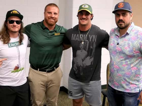 PMT: Packers Fullback Danny Vitale + John Kuhn, Mike Florio on Helmetgate, And Mt Rushmore Of Colors