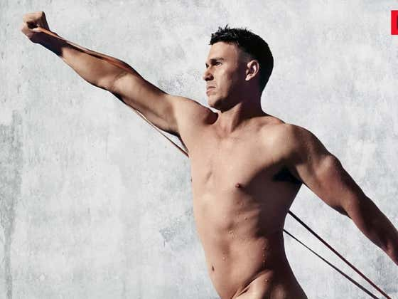 Not To Be Outdone By Phil Mickelson, Brooks Koepka Releases A Picture Of Himself From The Upcoming ESPN Body Issue