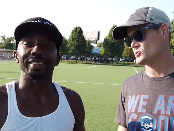 Eddie & Carl Do The No Glove National 16 Inch Softball Tournament In Forest Park