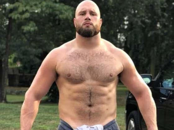 Dicks Out For Carson: The Eagles O-Line's Bare Butt, Balls And Back Will Be Featured In The 2019 Body Issue
