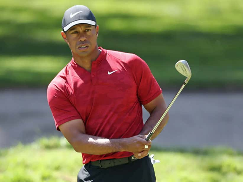 Tiger Announces He Had Arthroscopic Surgery On His Left Knee Last Week And Expects To Make A Full Recovery