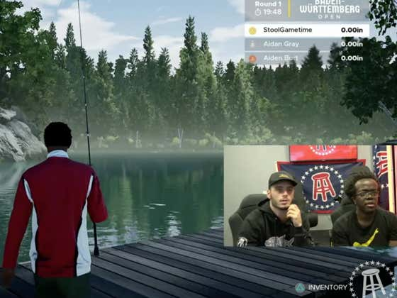 FISHING (Simulation) REDEMPTION Happened Today With Zah On Twitch