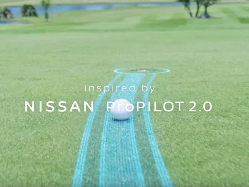 Finally Somebody Invented A Golf Ball With Self-Driving Technology So Now You Never Have To Worry About 5 Putting Again