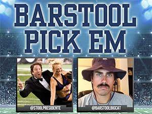 Barstool Pick Em